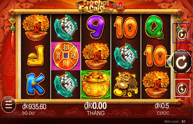 Facaishen - Thần may mắn - Slot Game Casino 7ball