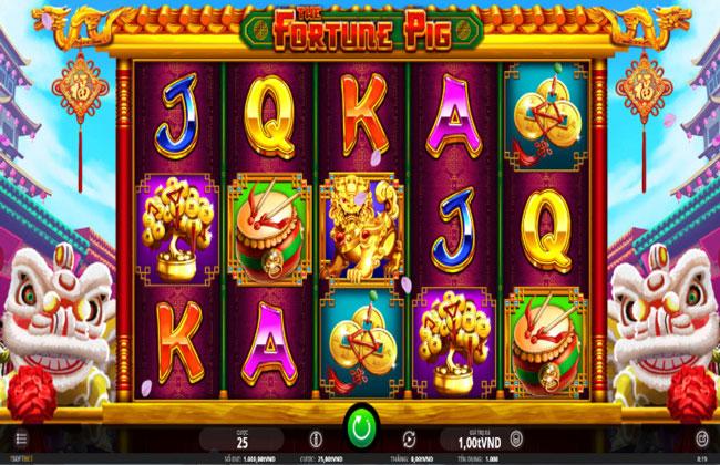 Fortune Pig - Vận may lợn - Slot game hấp dẫn tại 7ball