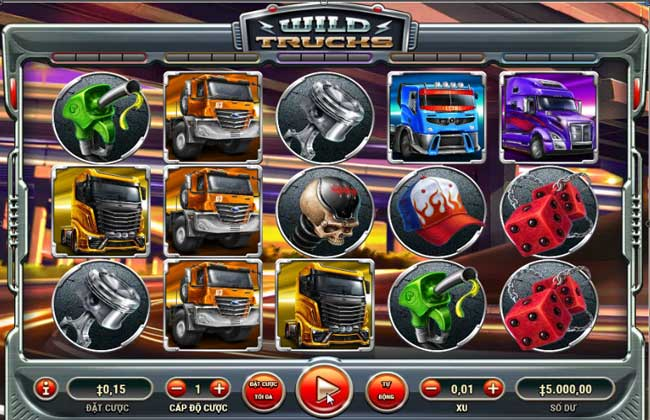 Giao diện game Xe tải hoang dã - Wild Trucks