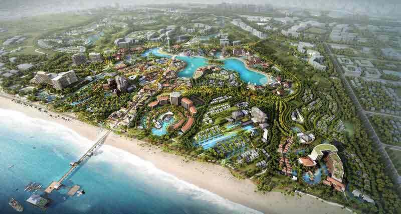 Quy mô của dự án Hoiana Casino