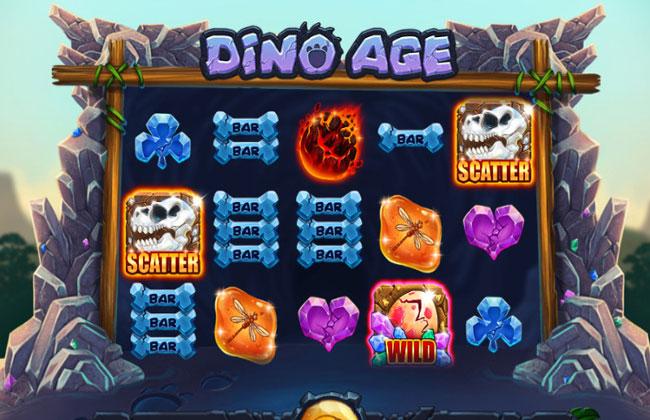 Slot game Dino Age - Thời đại khủng long