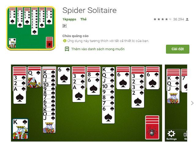 Hiện nay, game xếp bài Solitaire đã có mặt trên điện thoại và PC