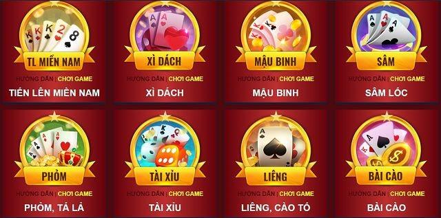 7ball với hệ thống game bài hấp dẫn