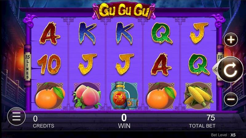Giao diện trong game Gu Gu Gu