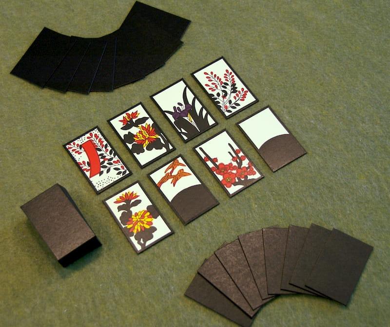 Cách xếp bài hoa Hanafuda