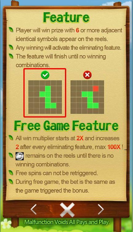 Ví dụ cho trường hợp thắng và được cộng điểm Slot Game 6 Toros