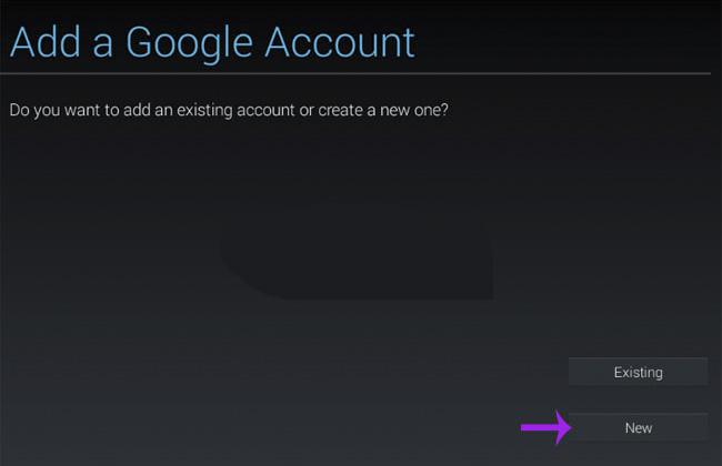 Cách giả lập bigkool game bange bluestacks: Bước 4 thêm google account